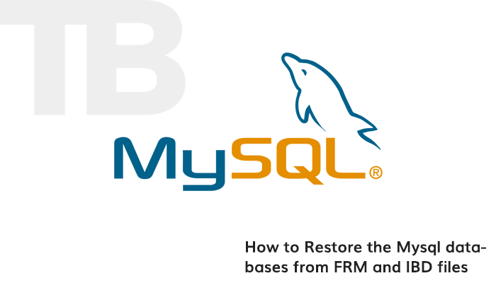 recover myisam and innodb databases